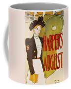 Harpers August 1897 Coffee Mug