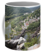 Harpers Ferry Viewed From Maryland Heights Coffee Mug