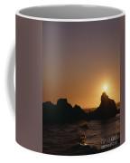 Harris Beach State Park Oregon Fisherman Coffee Mug