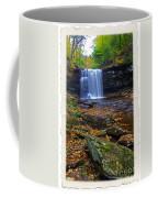 Harrison Wright Falls In Autumn Coffee Mug