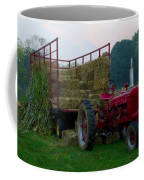 Harvest Time Tractor Coffee Mug