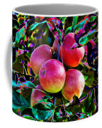 Harvesting Apples Coffee Mug