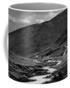 Hatcher's Pass In Black And White Coffee Mug