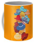 Hats Off Coffee Mug by Deborah Boyd