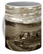 Hatton Ranch Carmel Valley From Highway One California  1940 Coffee Mug