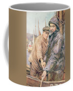 Hauling In The Net Coffee Mug