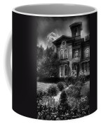 Haunted - Haunted House Coffee Mug by Mike Savad