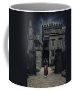 Haunted House Coffee Mug by Joana Kruse