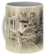 Haunted Mansion Hearse New Orleans Disneyland Heirloom Coffee Mug