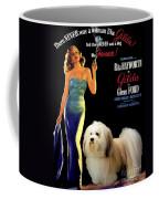 Havanese Art - Gilda Movie Poster Coffee Mug