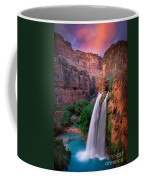 Havasu Falls Coffee Mug by Inge Johnsson