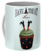 Have A Treat My Pretty Coffee Mug by Catherine Holman