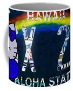 Hawaii License Plate Coffee Mug