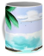 Hawaii Waves Coffee Mug