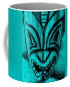 Hawaiian Aquamarine Mask Coffee Mug