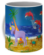 Hawaiian Lei Parade Coffee Mug