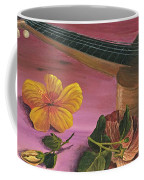 Hawaiian Ukulele Coffee Mug by Darice Machel McGuire