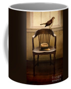 Hawk And Fedora On Chair Coffee Mug