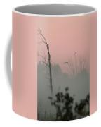 Hawk In Morning Fog Coffee Mug