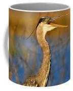 Hawking Heron Coffee Mug