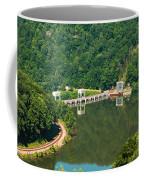 Hawks Nest Dam Coffee Mug