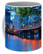 Hawthorne Bridge 22958 Coffee Mug