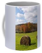 Hay Bale In Country Field Coffee Mug