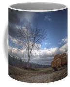 Hay Bales On A Wagon Coffee Mug