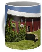 Hay Barn Coffee Mug by Guy Shultz