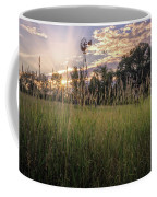 Hay Field Sunset Coffee Mug