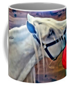 Hay For The White Horse Coffee Mug