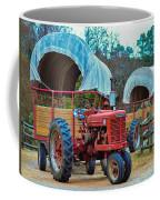 Hay Rides Trailer Coffee Mug