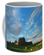 Hay Rolls On The Farm Series One In Westmoreland County Pennsylvania Coffee Mug