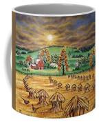 Hay Stacks Coffee Mug