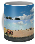 Haybales - The Other Side Of The Tunnel Coffee Mug by Blue Sky