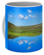 Hayden Valley Cloud Reflection Yellowstone National Park Coffee Mug