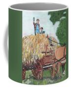 Haying Circa 1920 Coffee Mug