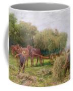 Haymaking Coffee Mug by Arthur Hopkins