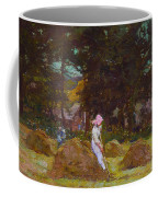 Haymaking  Coffee Mug by Elizabeth Adela Stanhope Forbes