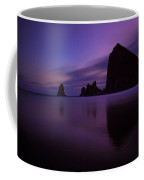 Haystack At Dusk Coffee Mug