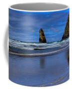 Haystack Rock And The Needles II Coffee Mug