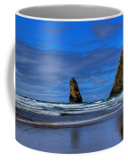 Haystack Rock And The Needles IIi Coffee Mug by David Patterson