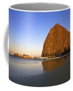 Haystack Rock Oregon Coast Coffee Mug