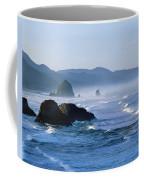 Haystack Rocks In Cannon Beach Coffee Mug