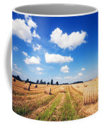 Haystacks In The Field Coffee Mug