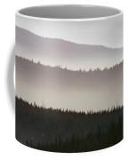 Haze Over Hills, Oregon Coffee Mug