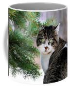 Hazel Eyes And Pine Coffee Mug by Christina Rollo