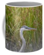 Hazy Day Heron Coffee Mug