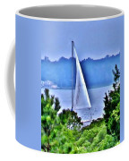 Hazy Day Sail Coffee Mug