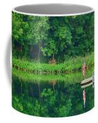Hazy Summer - Patriotic Dock Coffee Mug